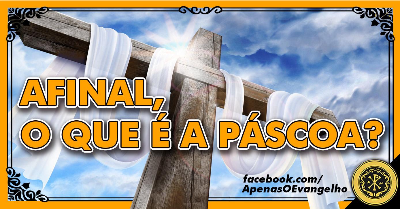 cruz páscoa