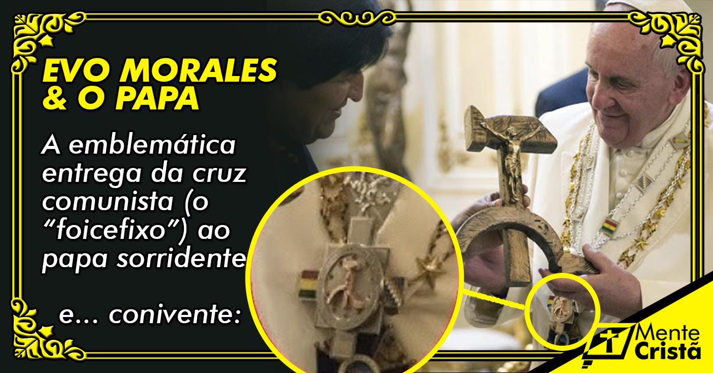 O Papa e a Cruz Comunista