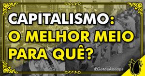 idolatria ao mercado, idolatria ao capitalismo, individualismo, livre mercado