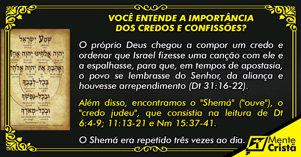 A Importância dos Credos e Confissões
