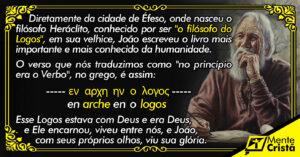 o apóstolo joão - arché e logos - filosofia