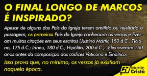o final longo de Marcos é falso